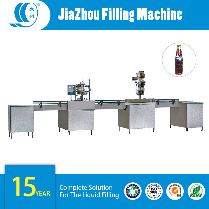 The-production-line-of-glass-bottle-carbonated-drink-washer,filler-and-capper-of-2000-bottles